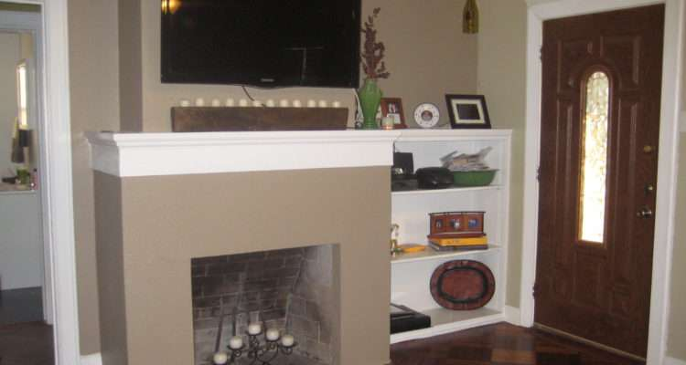 Adventures Creating Location Over Fireplace