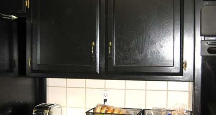 Cabinets Kitchen Black Cabinet Doors