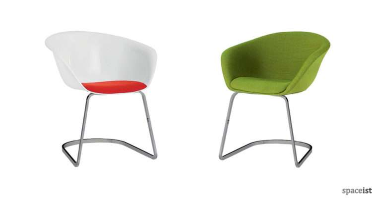 Cantilever Meeting Chairs Duna Chair