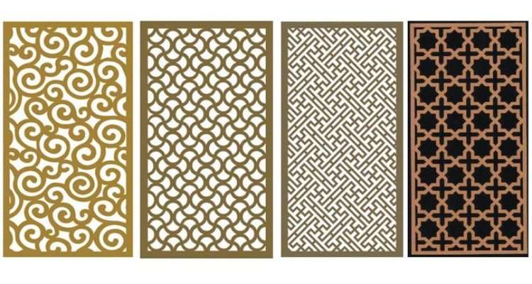 China Decorative Grille Panel Board Wooden