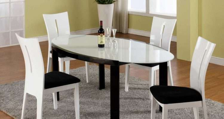 Contemporary Glass Dining Room Sets Marceladick