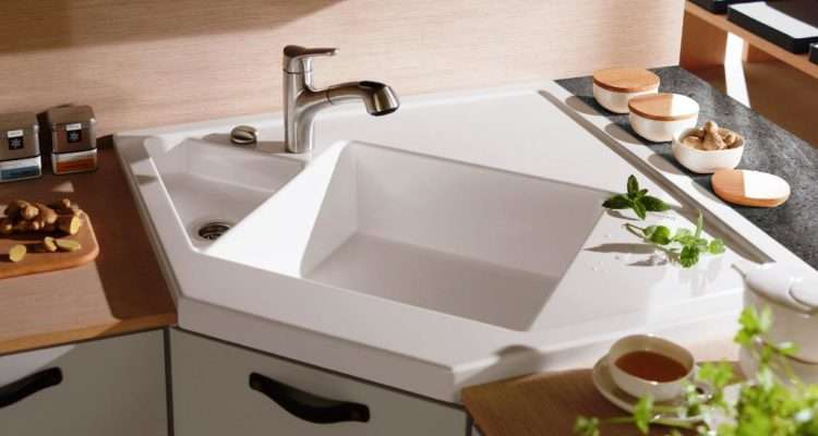 Corner Kitchen Sink Design Ideas Your Perfect Home