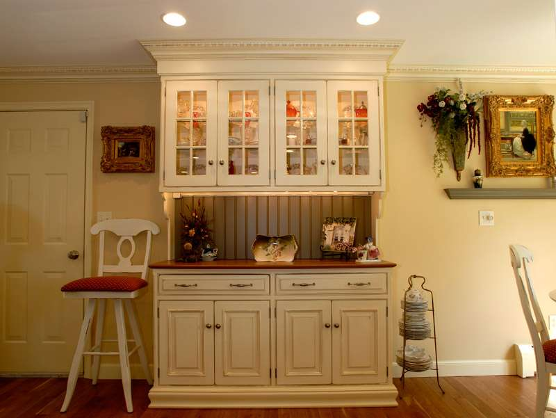 Country Kitchen Hutch Inspirational Decor Ideas