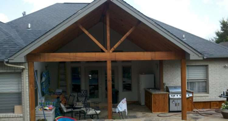 Covered Porch Addition Complete