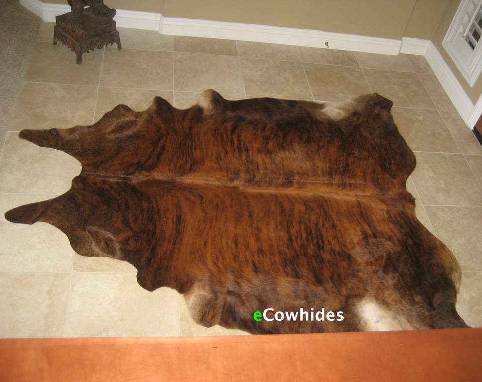 Cowhide Rug Brindle Sale