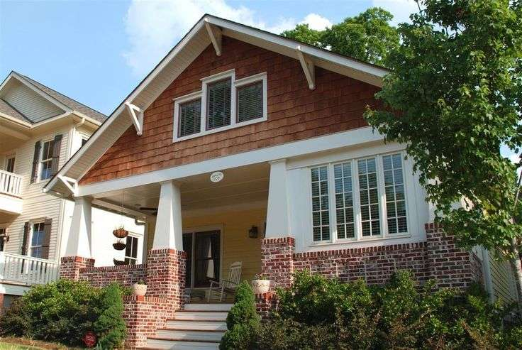 Craftsman Porch Style Homes Front Porches