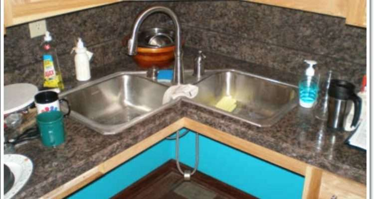 Creative Corner Kitchen Sink Design Ideas