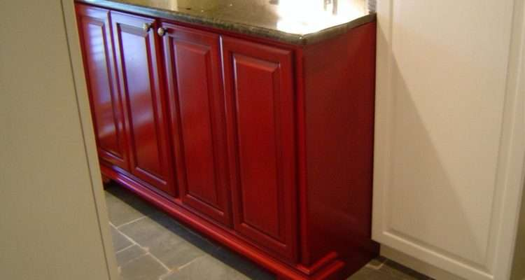 Custom Washer Dryer Cabinet Parkers