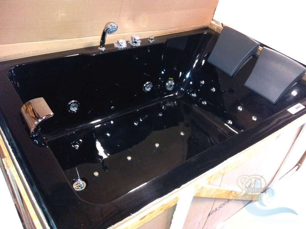 Details Black Person Indoor Whirlpool Jacuzzi Hot Tub Spa