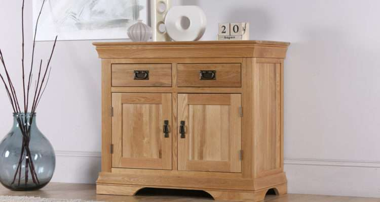 Details French Farmhouse Solid Oak Sideboard