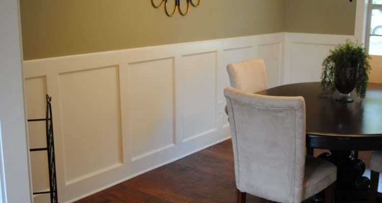 Dining Rooms Chair Rail Paint Ideas Trend Home