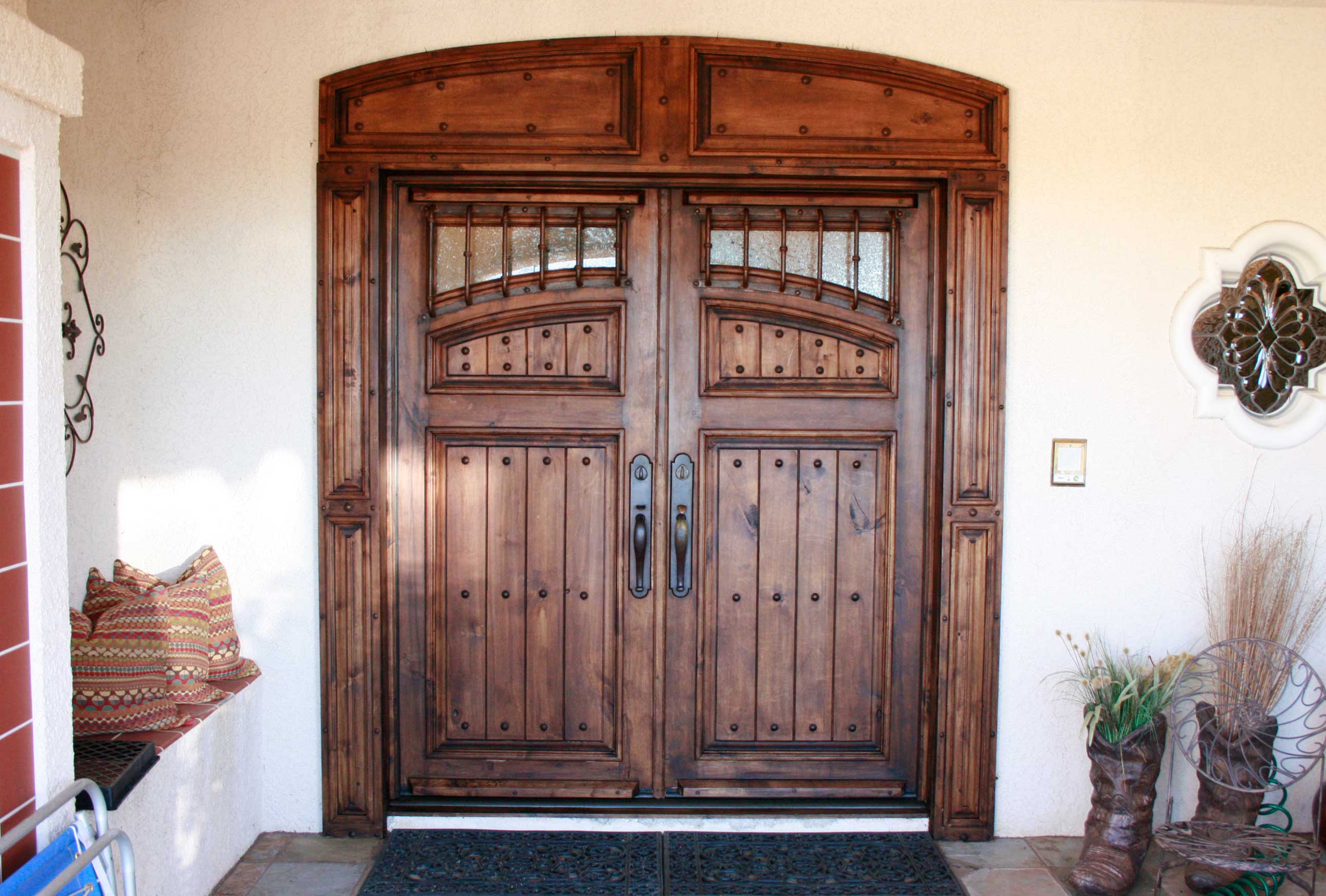Door Our Rustic Hardware Including Hand Pounded Iron Nail