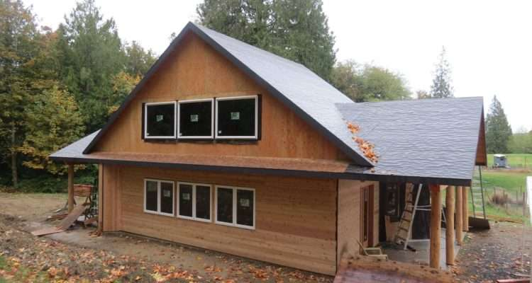 Double Gable Roof Design House