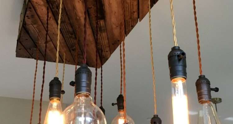 Edison Bulb Chandelier Diy Overview Craft Thyme