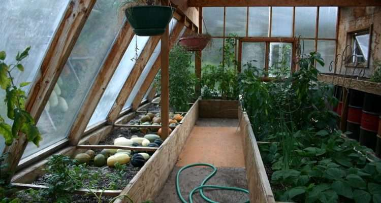Get Home Heating Attached Greenhouse Off