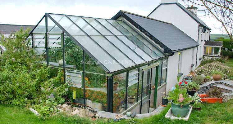 Glasshouse Farm House Joy Larkcom Garden Ireland