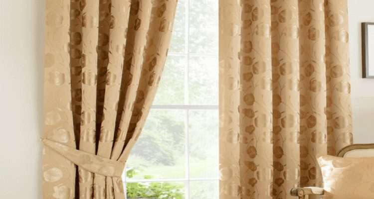 Gold Ready Made Curtains Integralbook