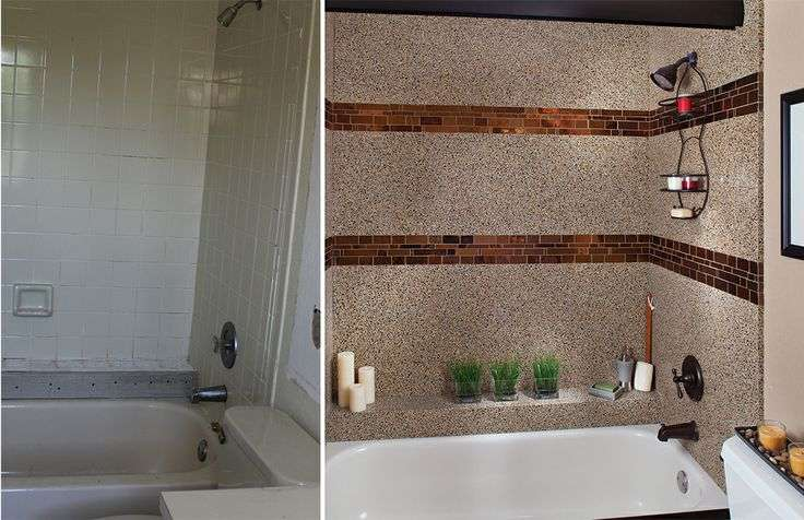 Granite Transformations Beforeandafter Bathroom Tub