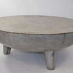 Greer Light Concrete Coffee Table Mecox Gardens