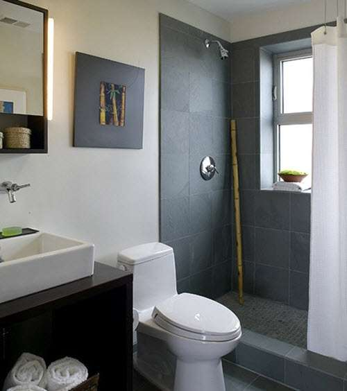 Grey Slate Bathroom Wall Tiles Ideas