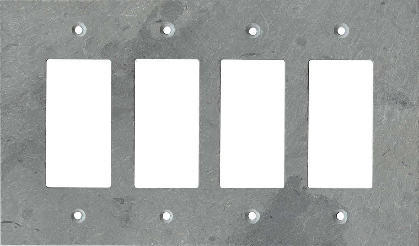Grey Slate Light Switch Plates Outlet Covers Wallplates