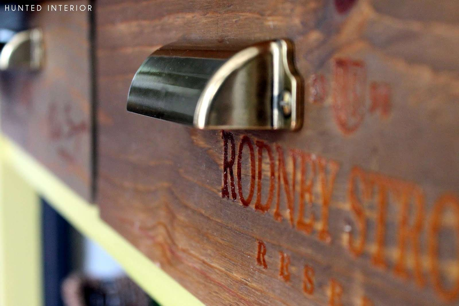 Hunted Interior Wine Crate Drawer Fronts