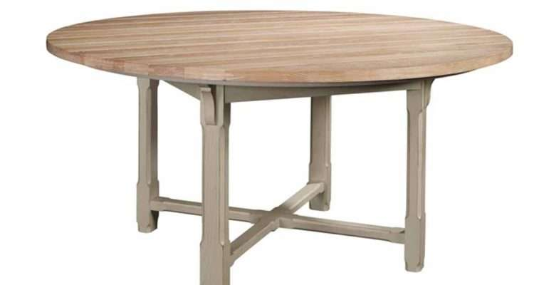 Inch Round Dining Table Top Campagne