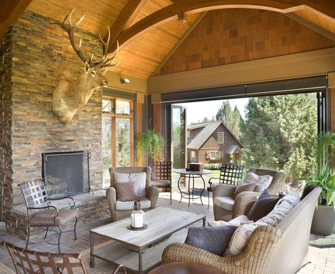 Incredible Outdoor Living Spaces Dfd House Plans