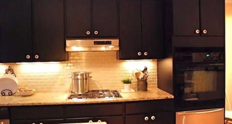 Kitchen Trends Paint Cabinets Black