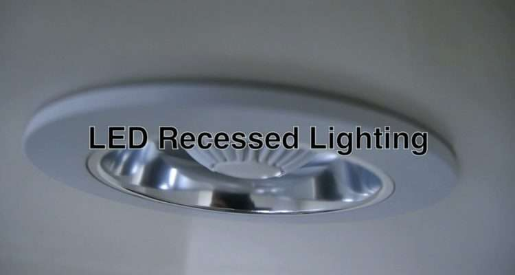 Led Recessed Lighting Can Ceiling Lights Fixtures Bathroom