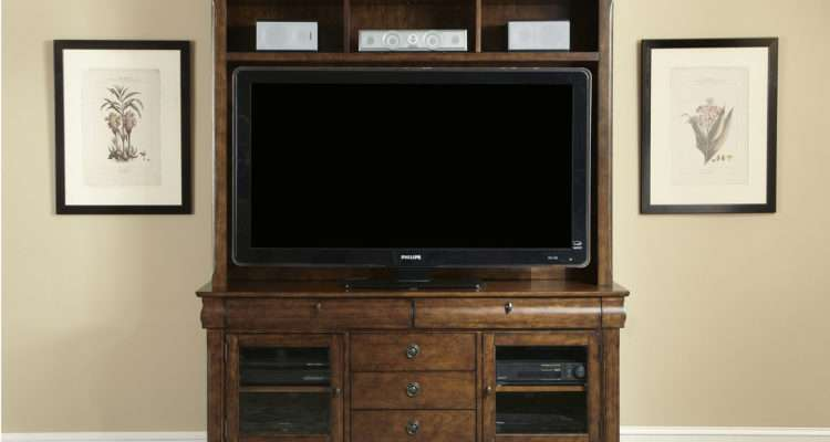 Liberty Rustic Traditions Entertainment Center