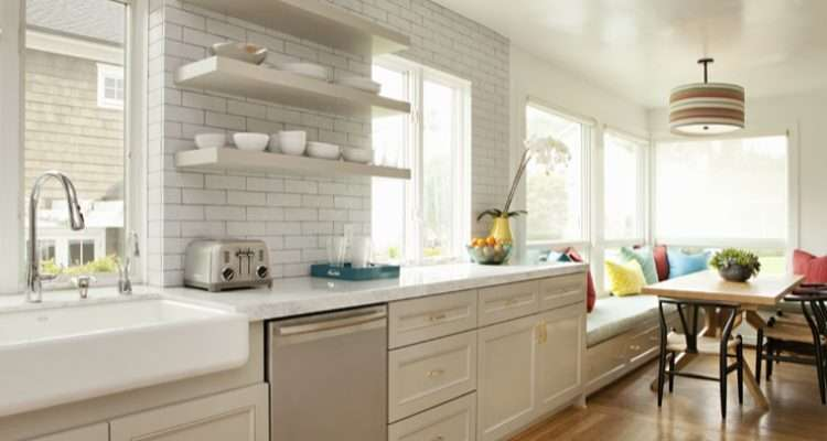 Light Gray Kitchen Cabinets Contemporary Bonesteel Trout