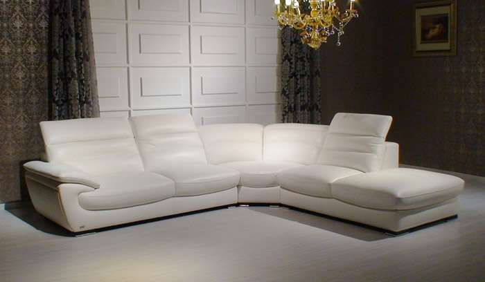 Living Room Design Ultra Modern Leather Sectional Sofas Part