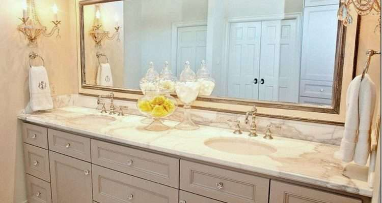 Lovely Marble Light Grey Cabinets Bathrooms Pinterest