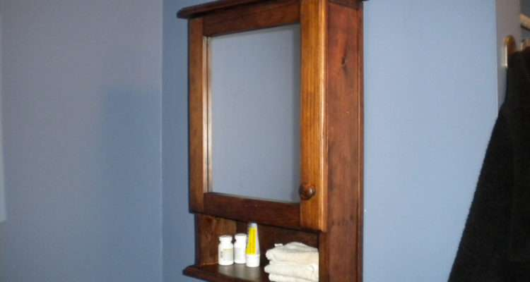 Mirrored Bathroom Medicine Cabinet Rayscustomwoodwork Etsy