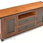 Mountain Rustic Entertainment Center