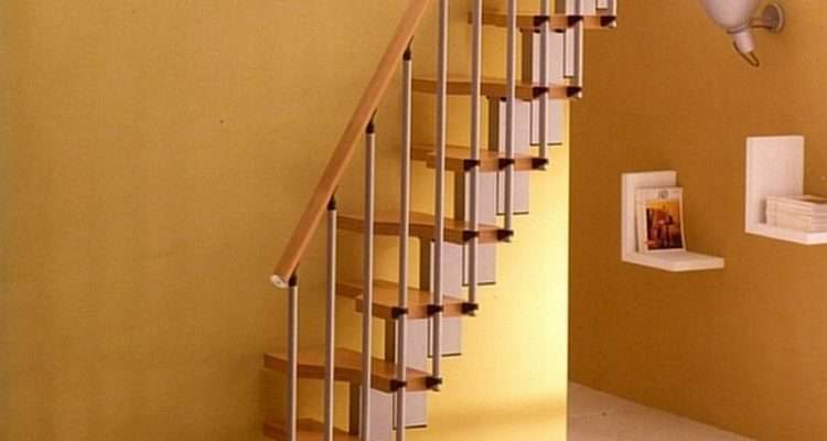 Narrow Loft Stairs Small Spaces