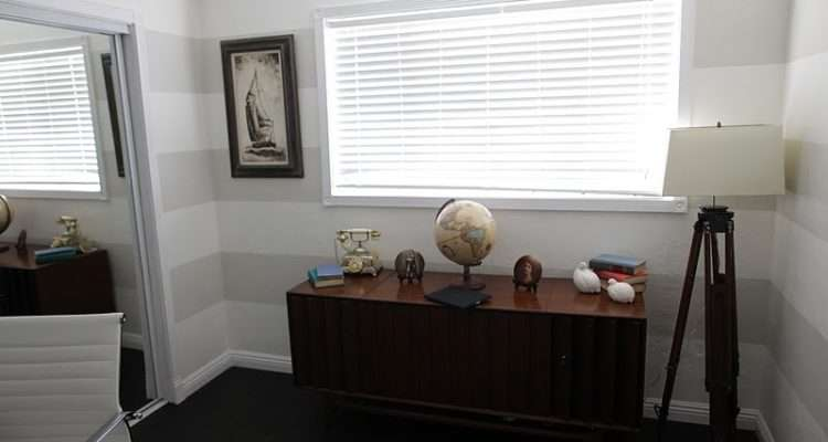 Office Darker Stripe Sherwin Williams Natural Choice
