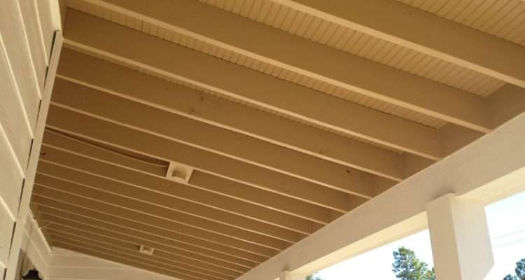 Open Ceiling Exposed Rafters Success