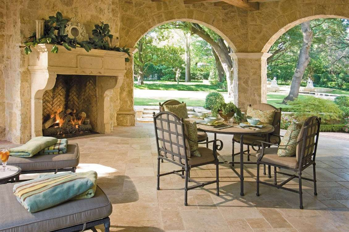 Outdoor Living Space Classic Material Can Found Any Style