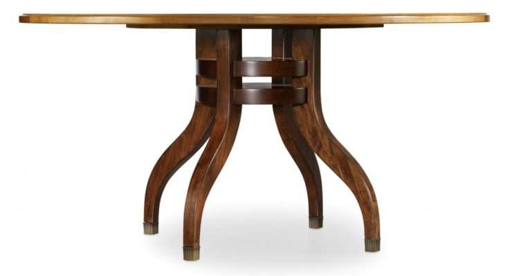 Palisade Inch Round Dining Table Rooms Outlet