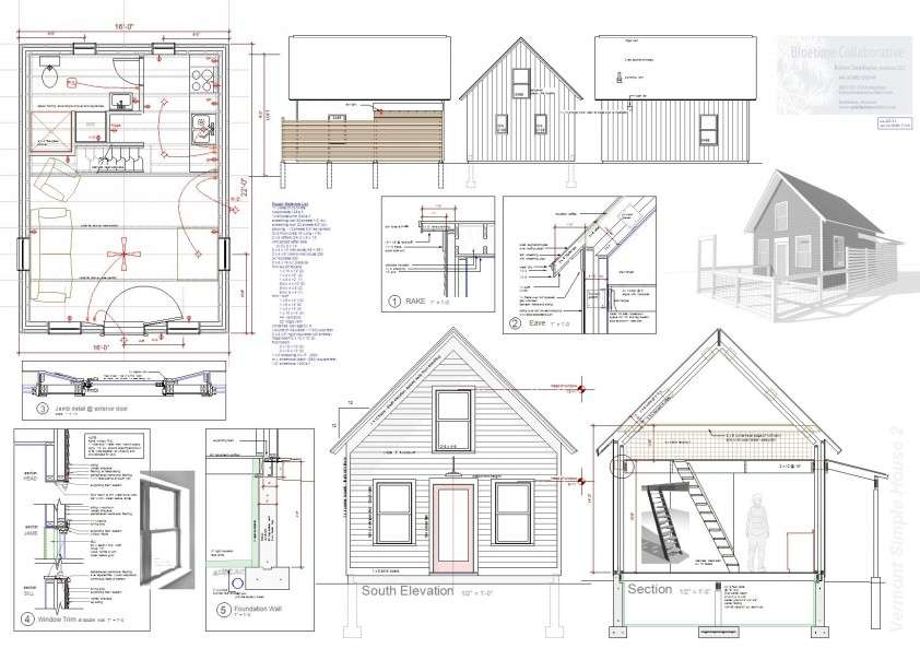 Plans Tumbleweed Tiny House Company Home Constructions