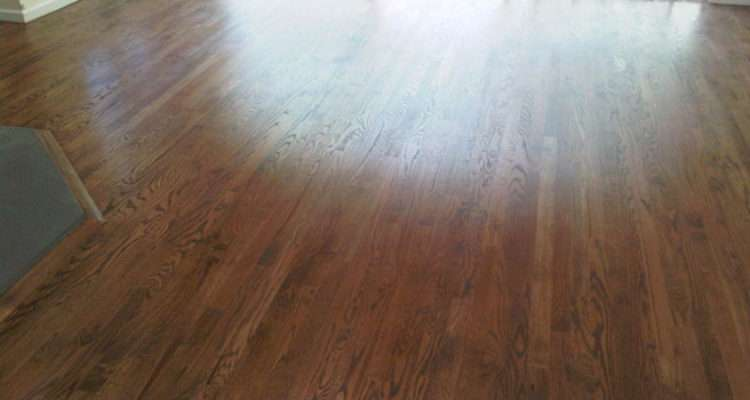Provincial Stain Wood Installation Refinishing Photos