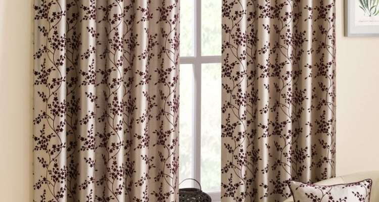 Ready Made Curtains Alice Aubergine