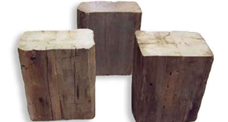 Recycled Wood Chairs Reclaimed Stools