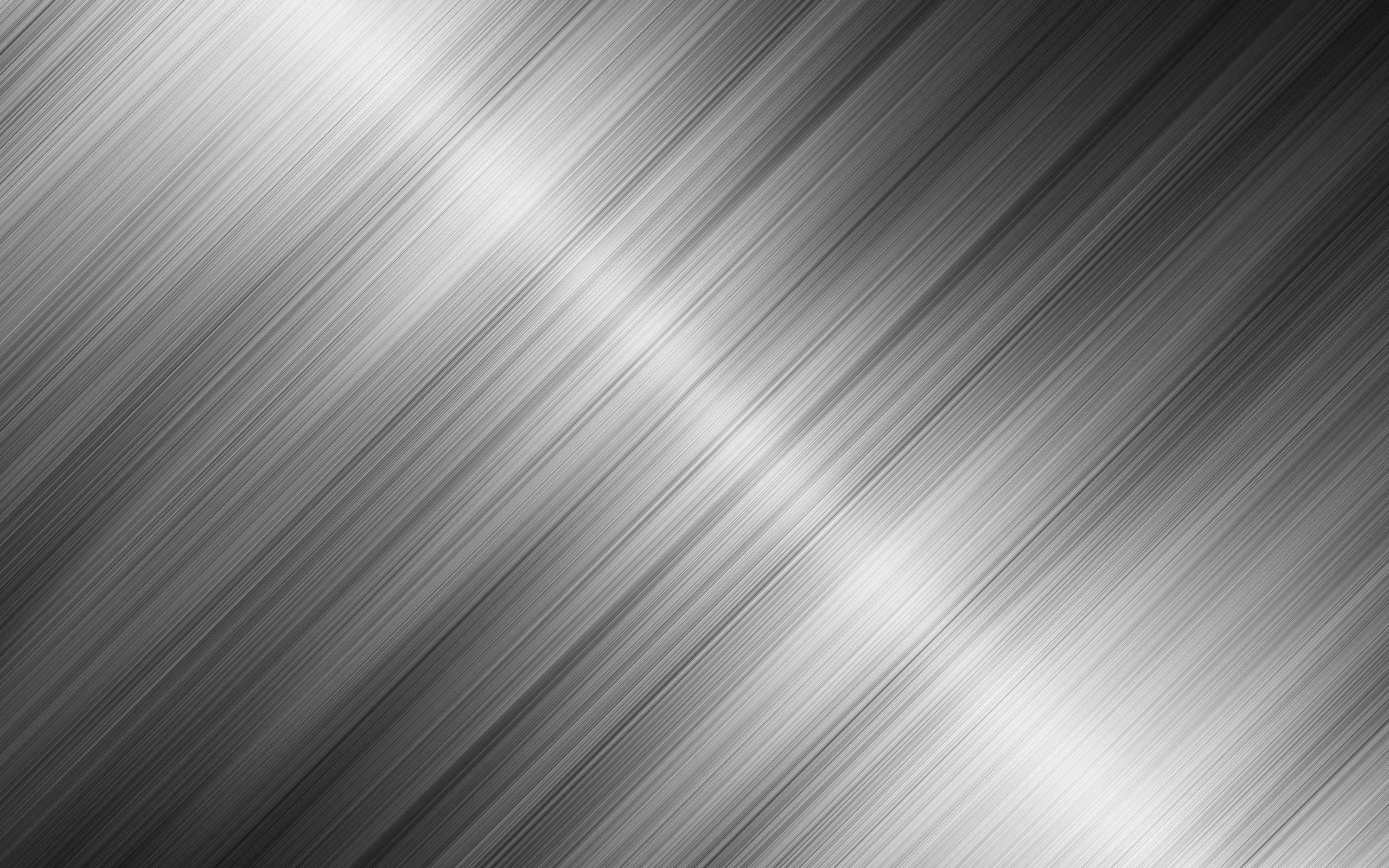 Silver Stripe Metallic Color Wallpapersbyte