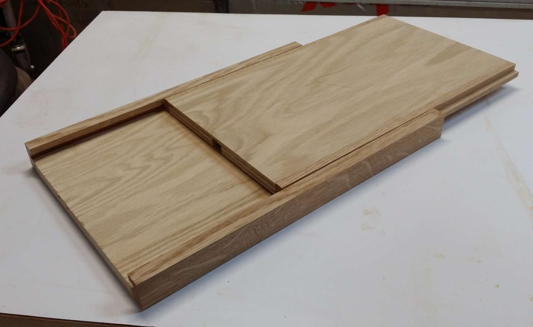 Snack Table Build Part Diary Wood Nerd