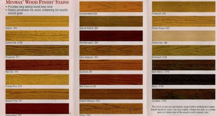 Stain Colors