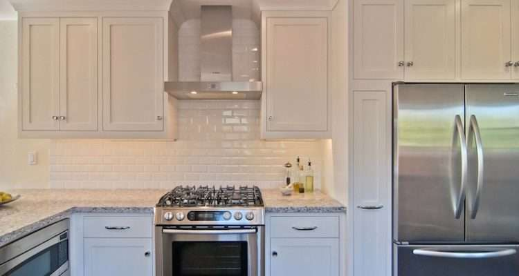 Subway Tile Backsplash Transitional Kitchen William Adams Design