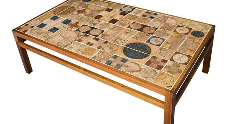 Tue Poulsen Tile Coffee Table Stdibs